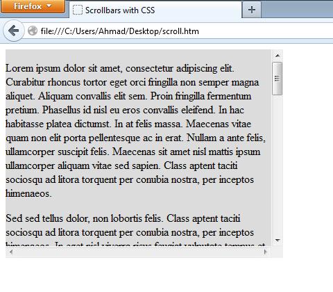 用CSS美化你的滚动条_情殇博客